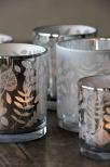 Majas Crispy Leaves 7x8 cm Silver
