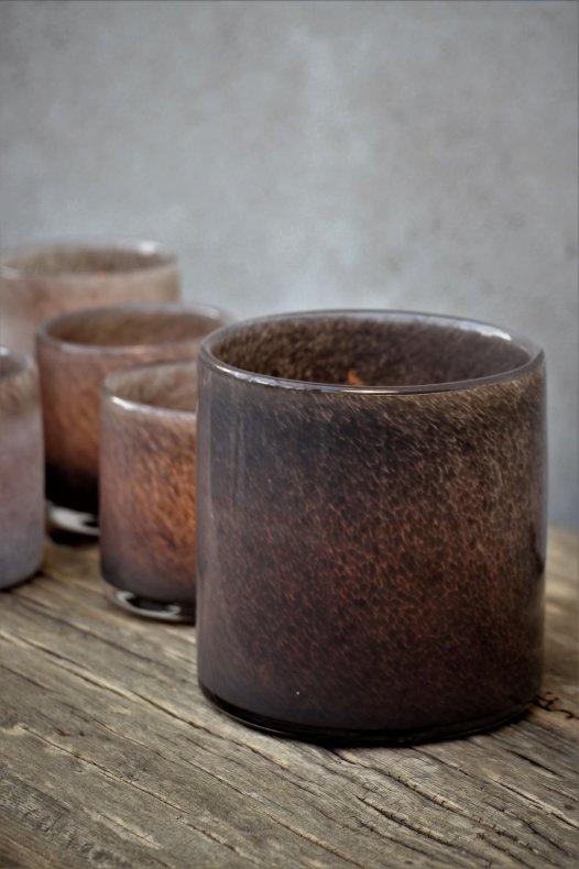 Majas Lumiere Coffee Lykta 12x12 cm